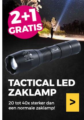 Tactical LED Zaklamp