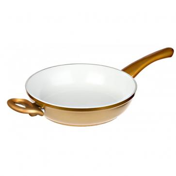 Dagaanbieding - Cerafit Gold Hapjespan - 28cm dagelijkse koopjes