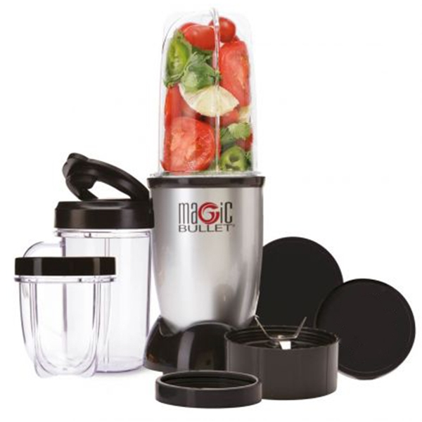 Magic Bullet Blender 11-delig Zilver