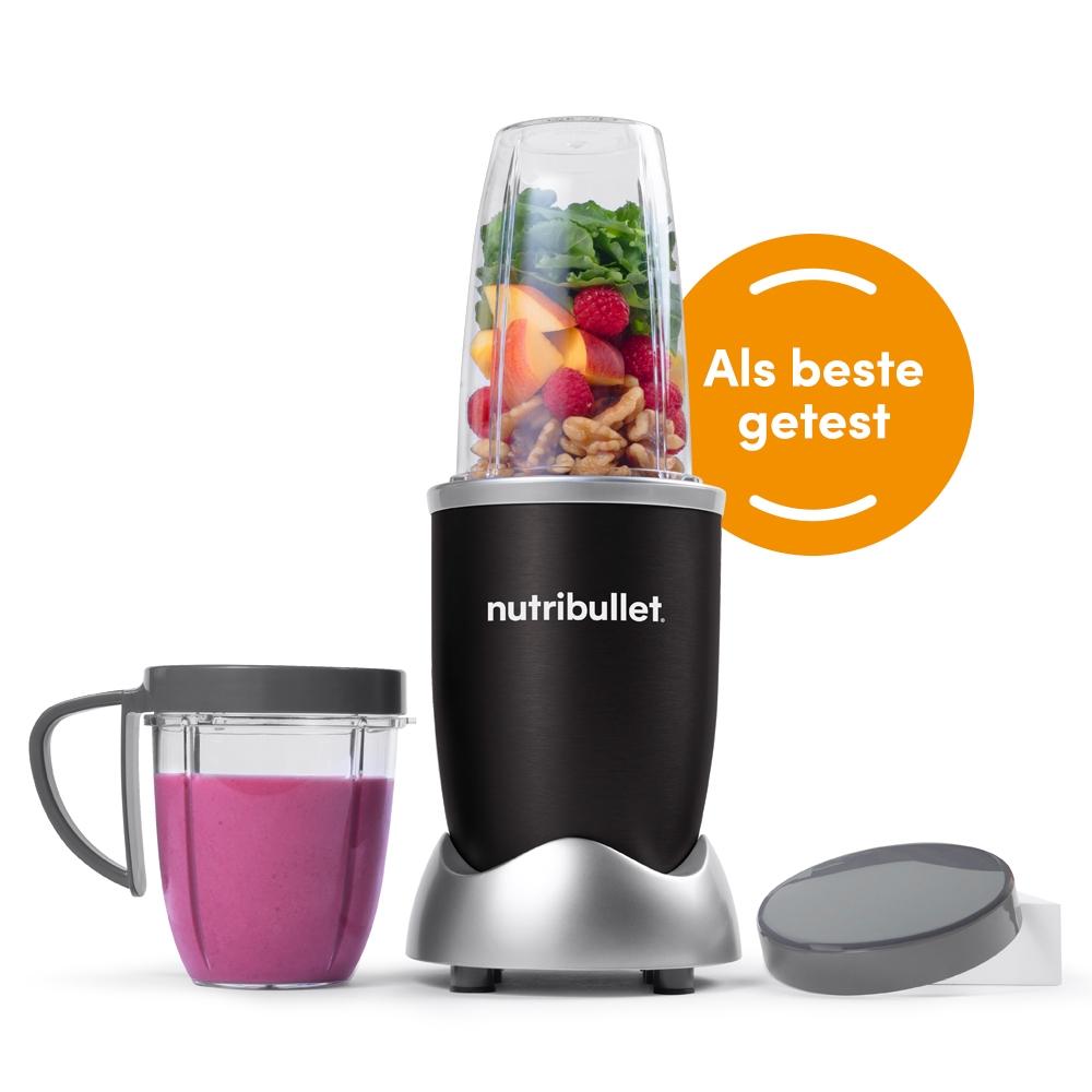 NutriBullet Original Blender 8-delig Zwart