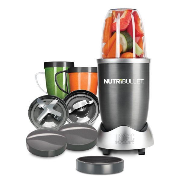 NutriBullet 600 Series – Blender – 12-delig – Grijs
