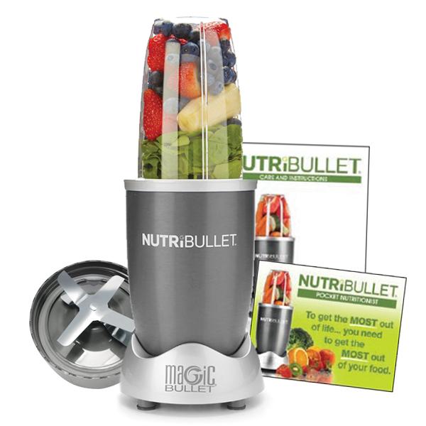 NutriBullet 600 Series Blender 5 delig Grijs NutriBullet Geweldig