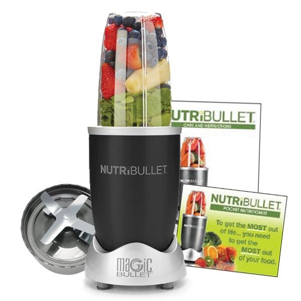 NutriBullet 600 Series Blender 5-delig Zwart