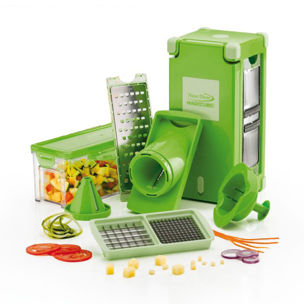 Nicer Dicer Magic Cube – 12-delig