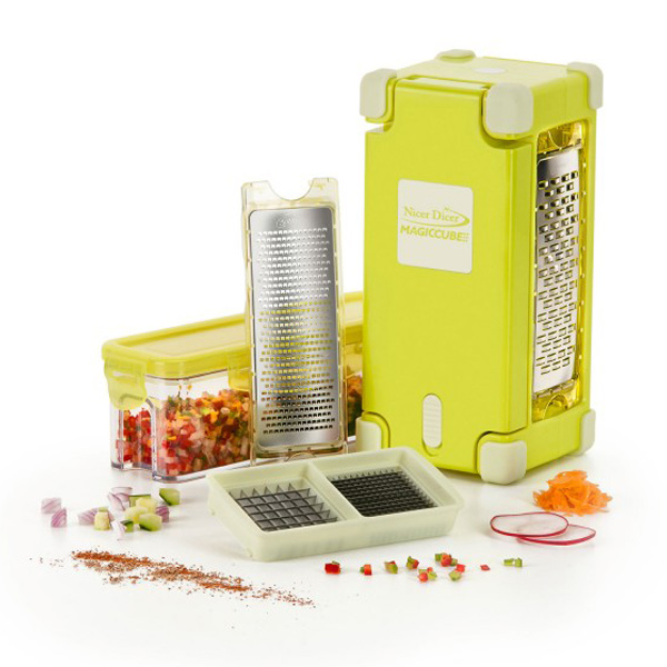 Nicer Dicer Magic Cube Gourmet – 9-delig