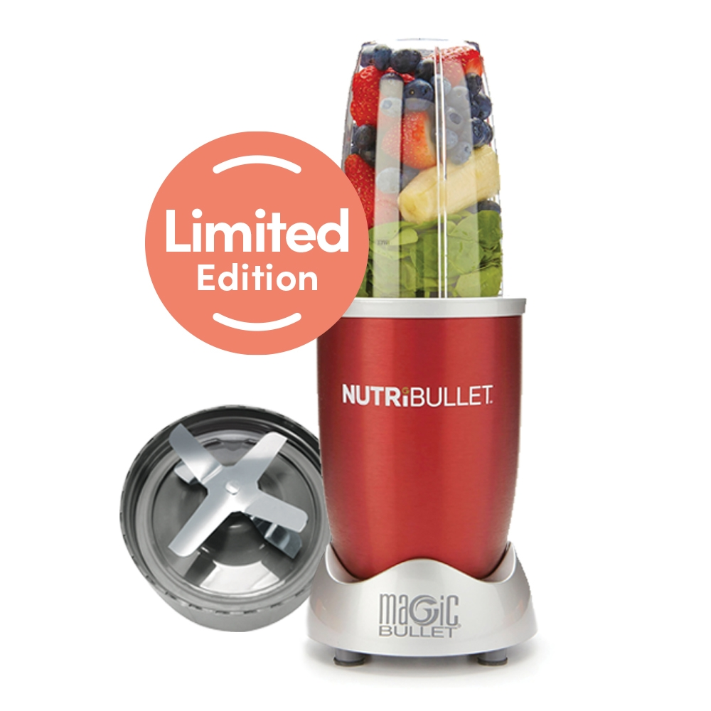 NutriBullet 600 Series – Blender – 5-delig – Red Scarlett